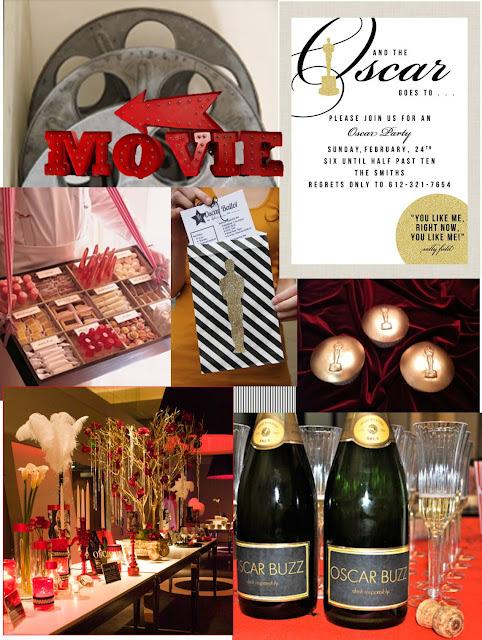 Oscar party inspiration, academy awards party