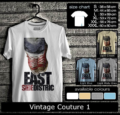 kaos distro vintage couture 1