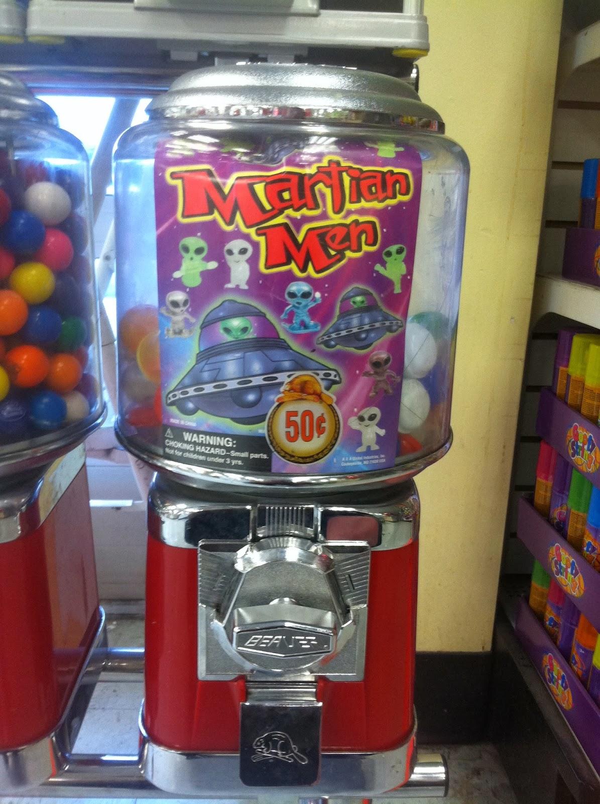 quarter on a string vending machine