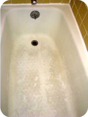 Finely ground the best way to clean your bathtub Best acrylic tub