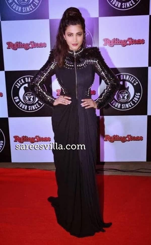 Shruti Haasan at The 9th Jack Daniel's Annual Rock Awards 2014