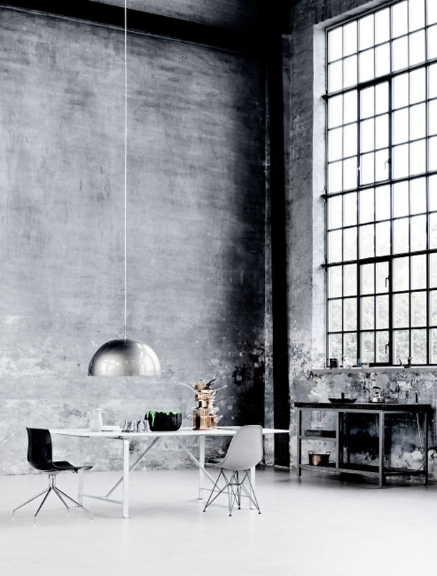 Studio krishka interior inspiration industrial window - Industrial interior ...