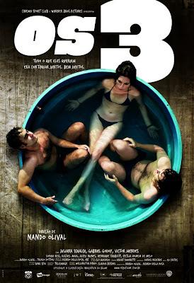 Filme Poster Os 3 DVDRip XviD & RMVB Nacional