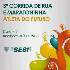 3ª Corrida do SESI - 01/12/2013