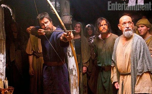 Christian Bale y Ben Kingsley en Exodus: Gods and Kings
