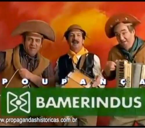 Propaganda da Poupança Bamerindus nos anos 90. Jingle clássico na versão baião.