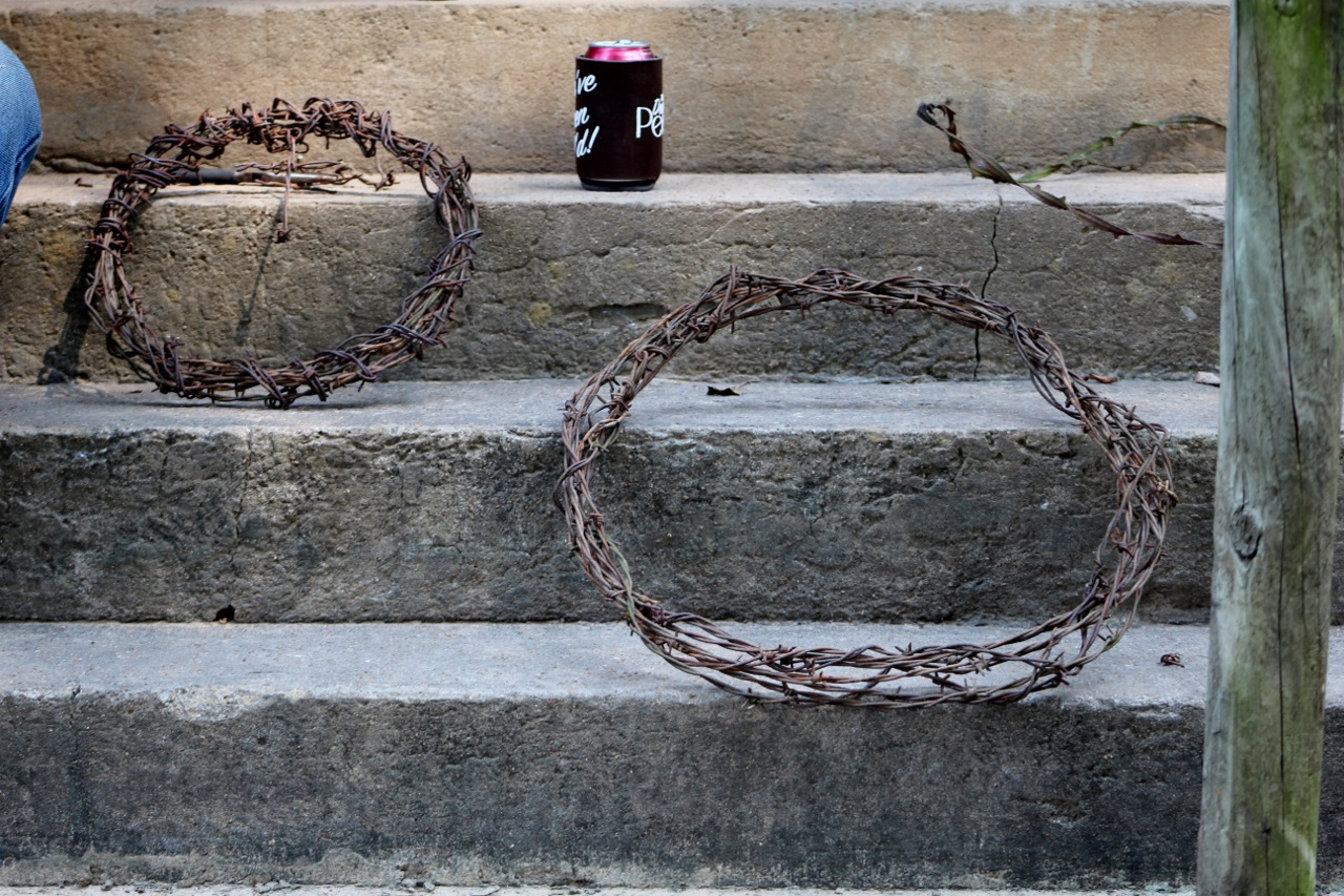 At The Farm...: Barbed Wire and History