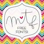 Free Fonts at misstiina.com/fonts