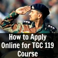How to Apply Online for TGC 119 Course