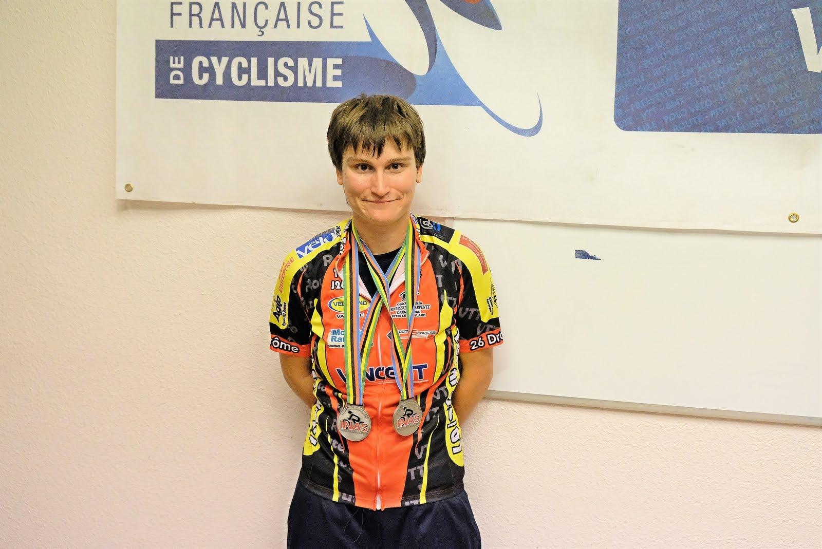 Aurélie Minodier Vice championne du monde sport adapté