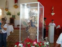 Visita da Imágem e reliquias de Santa Luzia