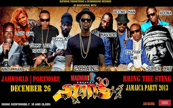 Sting 2013 Mavado Performance