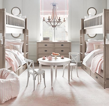 Bedroom bunking on pinterest bunk bed bunk rooms and for 3 beds in one bunk bed