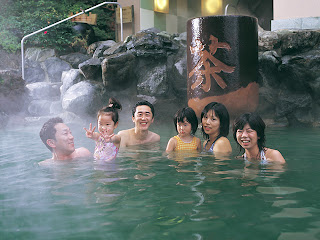 Japanese Green Tea Bath Onsen