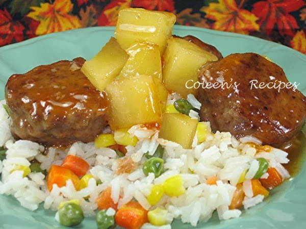 Coleen's Recipes: SWEET AND SOUR MEATBALLS