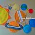 Varal de Planetas Feltro Brinquedo Artesanal