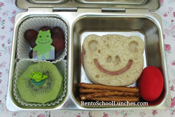 Frog lunch, CuteZCute, bento school lunches