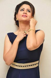Anchor Shilpa Chakravarthy Stills in Long Dress at tur Talkies Trailer Launch  25288