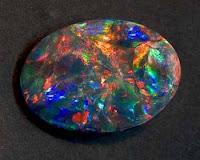 Batu Akik Termahal Di Dunia - Black Opal Kalimaya