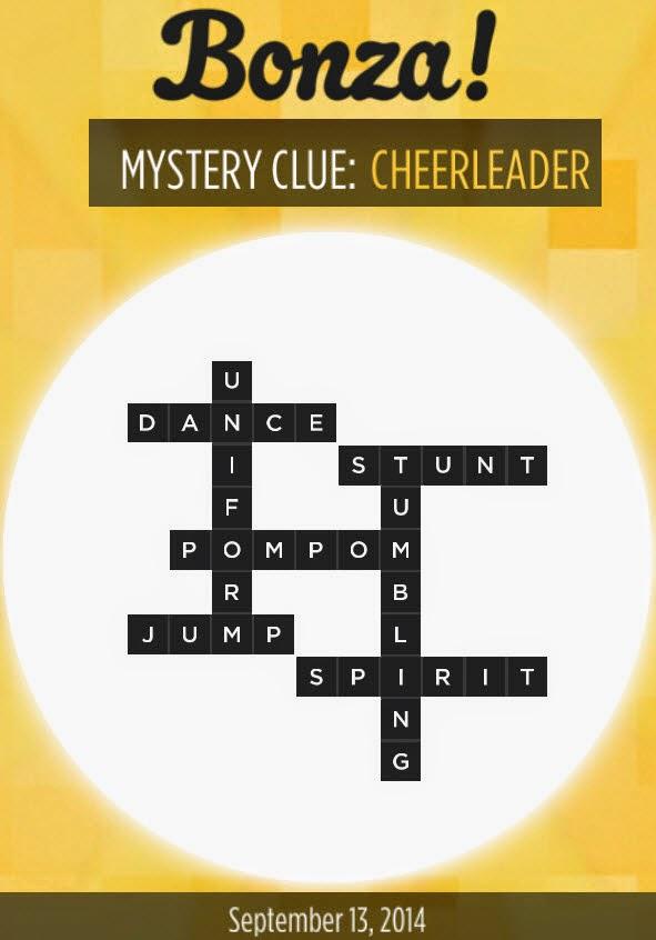 Bonza mystery clue celebrity