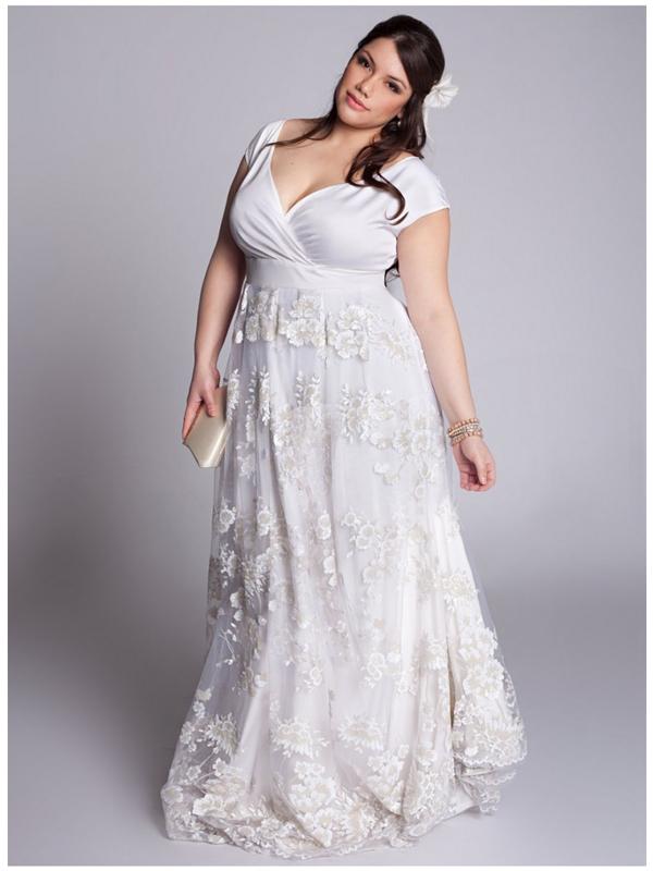 Plus Size Vintage Wedding Dress For Your Total Vintage Wedding Theme