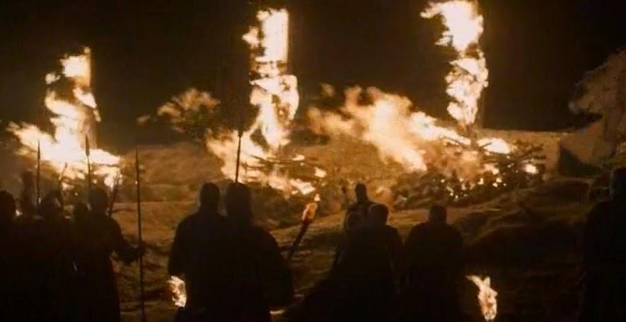 Sacrificio al señor de luz - Juego de Tronos en los siete reinos