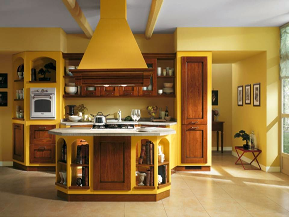 kitchen sweet kitchen decorating ideas in brown and yellow colors