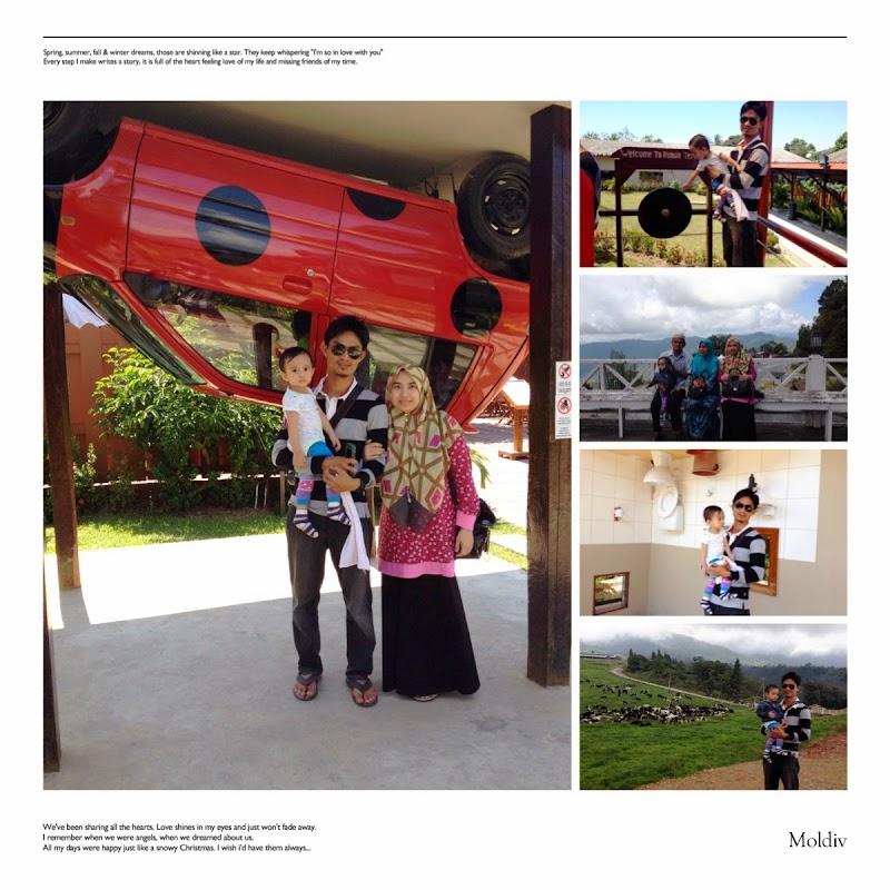 Kota Kinabalu Trip dengan mak ayah