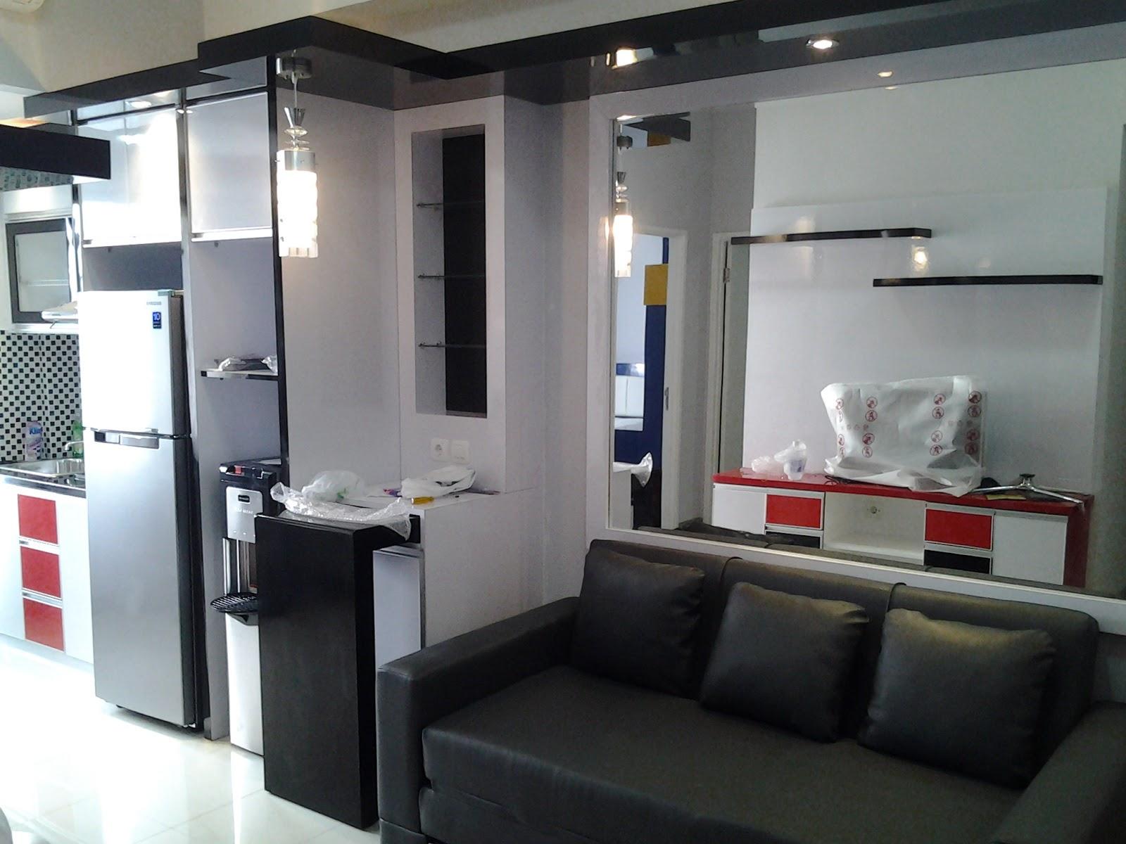 Cv tridaya interior desain interior unik apartemen for Design apartemen 2 kamar
