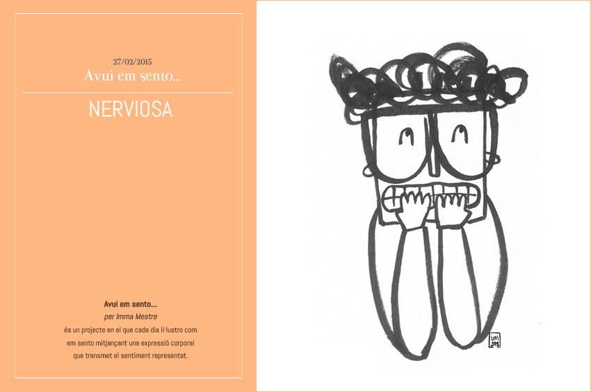 Primera imatge del projecte Avui em sento... Foto ©Imma Mestre Cunillera.