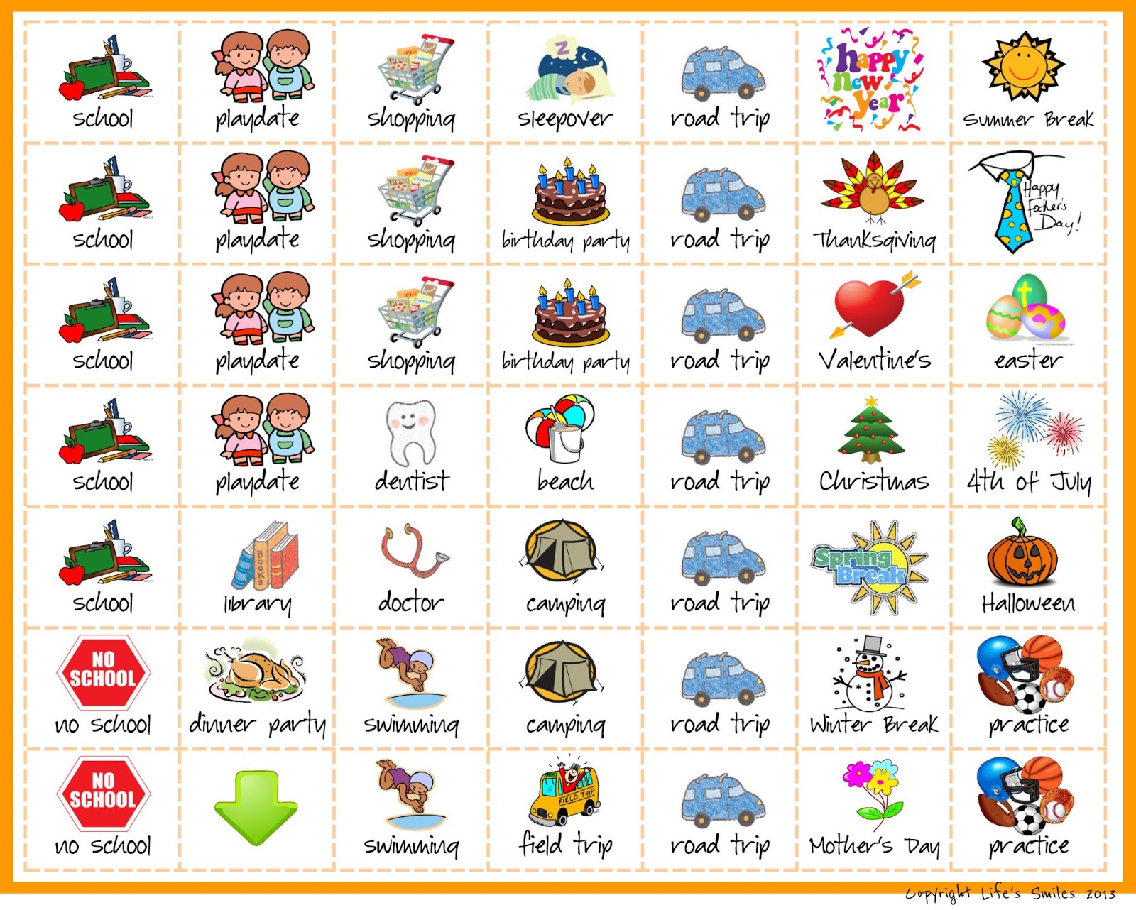 Children S Calendar With Stickers : Kids calendar stickers new template site