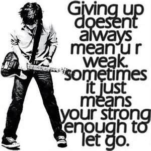cool quote about give up