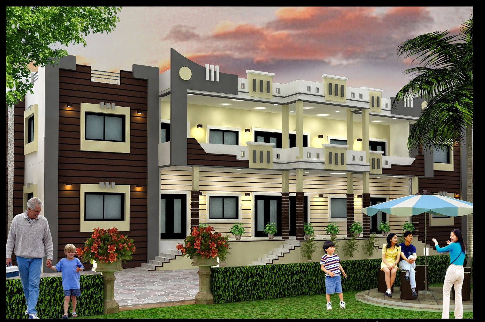 Best house design in your home best elevation design for for Top home designers