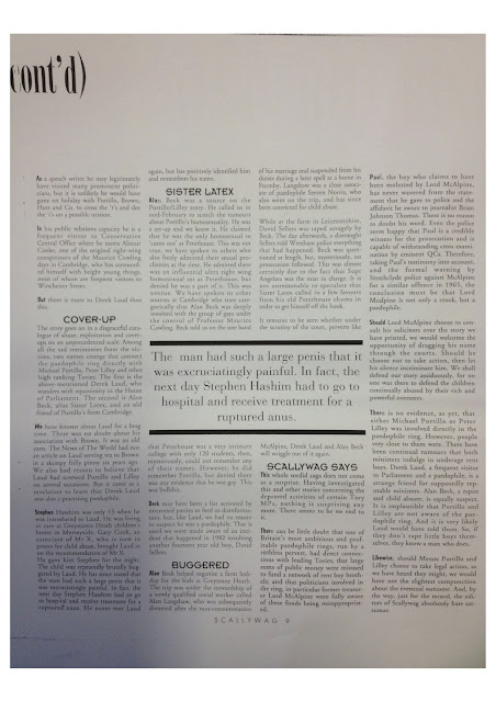 Scallywag - Original Lord McAlpine Paedophile Ring Article