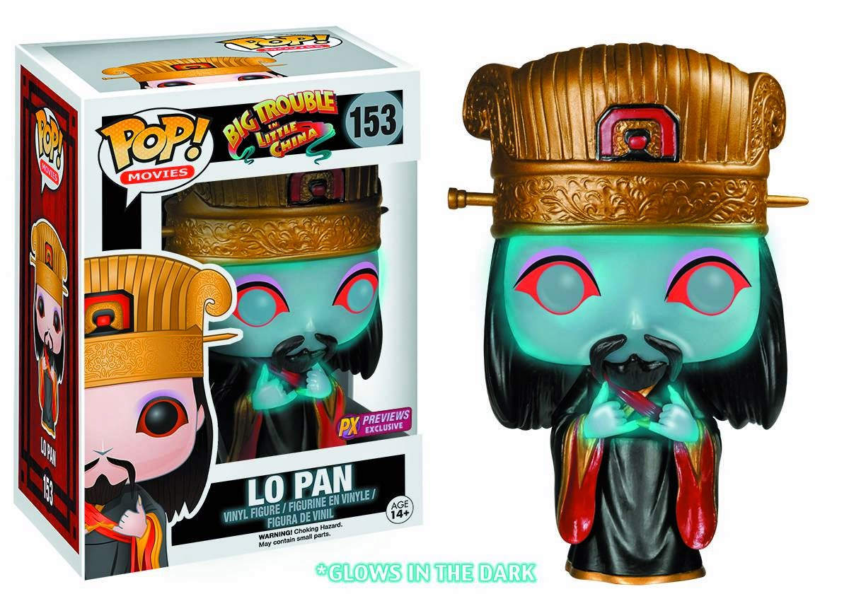 Funko Pop!  Lo Pan Glow in the dark