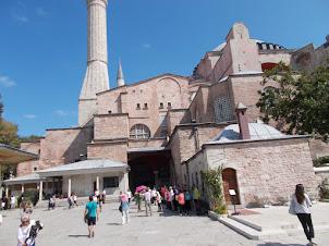 Hagia Sophia tombs of the Sultans museum complex.