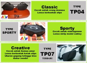 Kacamata Terapi Perfect Health, Pinhole Glasses Original Asli