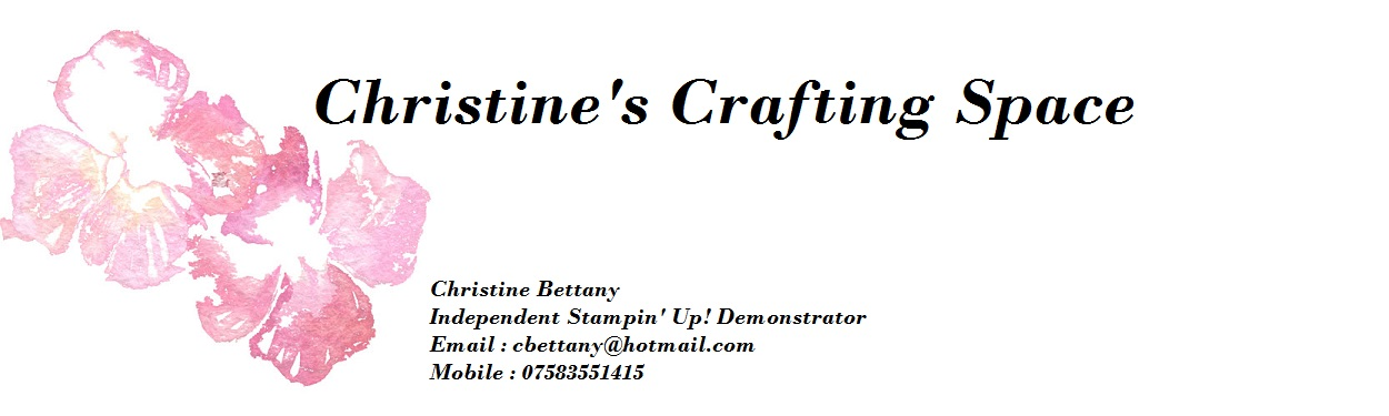 Christine's Crafting Space
