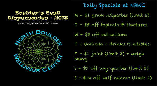 north boulder wellness center dispensary