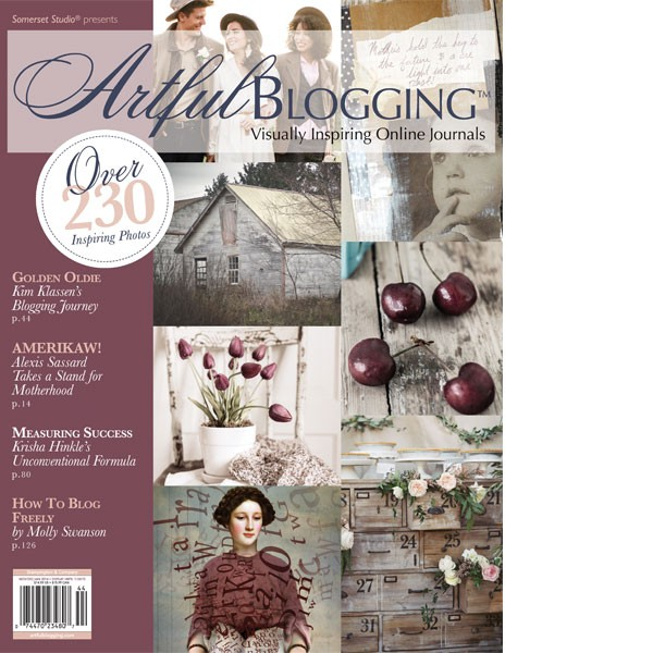 Featured in Artful Blogging, Winter 2015