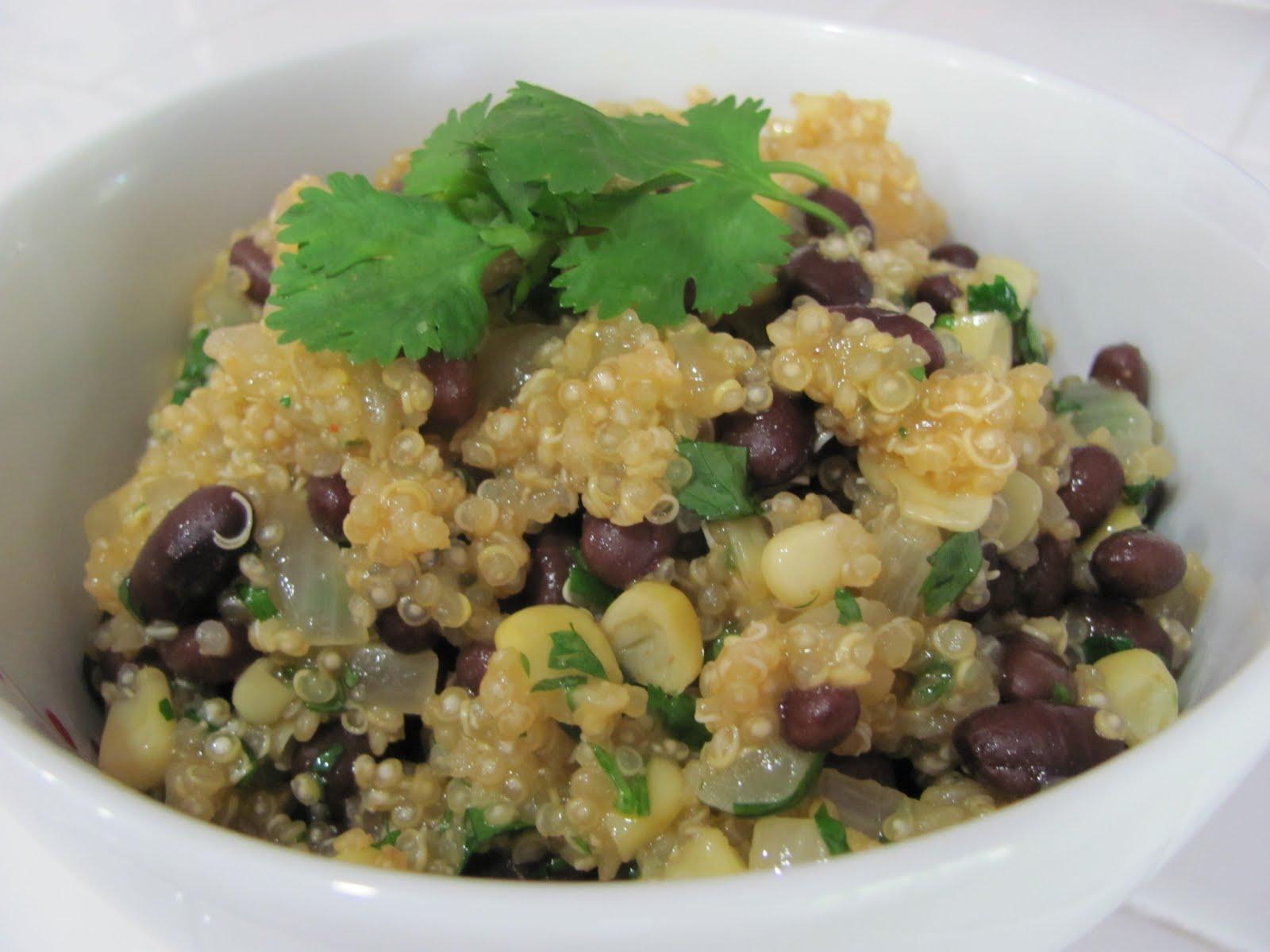 Running Upward: Quinoa and Black Beans (GREAT Make-Ahead Lunch Idea!)