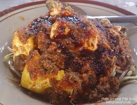 Kuliner Bogor - Toge Goreng Pak Inin