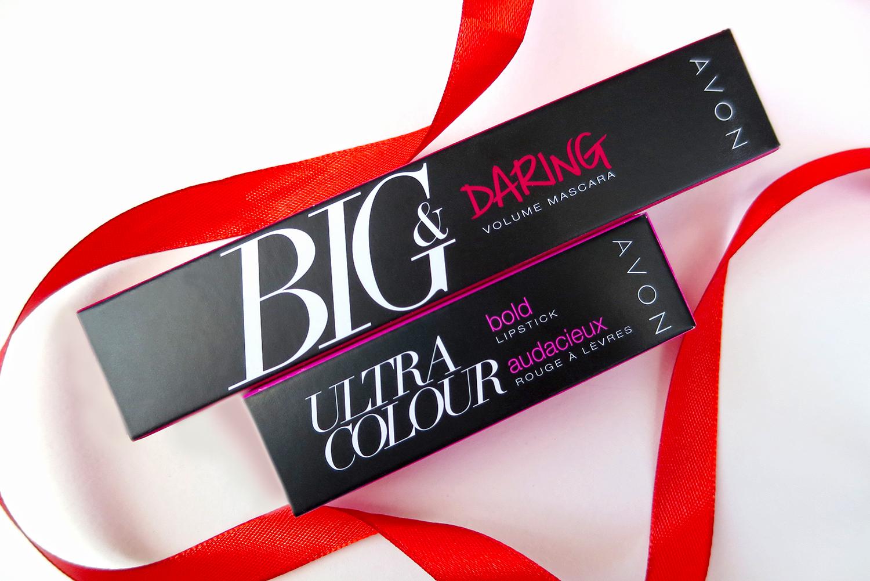 """помада """"Максимум цвета"""" Ultra Color Bold Lipstick и тушь """"Объем. Провокация"""" Big & Daring Volume Mascara."""