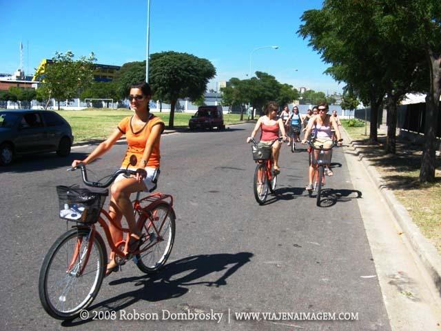 tour bicicleta naranja em buenos aires