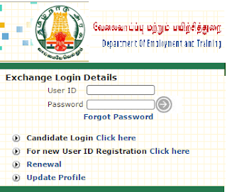TN Velai Vaippu Online Registration and Tamilnadu Employment Online Registration & Renewal