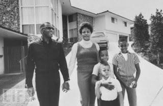 Howard Robinson, David Robinson, Ray Charles Robinson Jr. Front Row