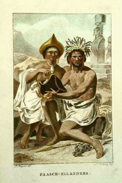 Tatuaż z Wyspy Wielkanocnej