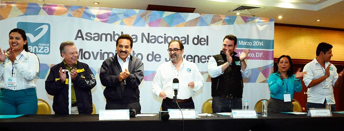 Imagen de Eligen coordinadores del Movimiento Juvenil en  Nueva Alianza