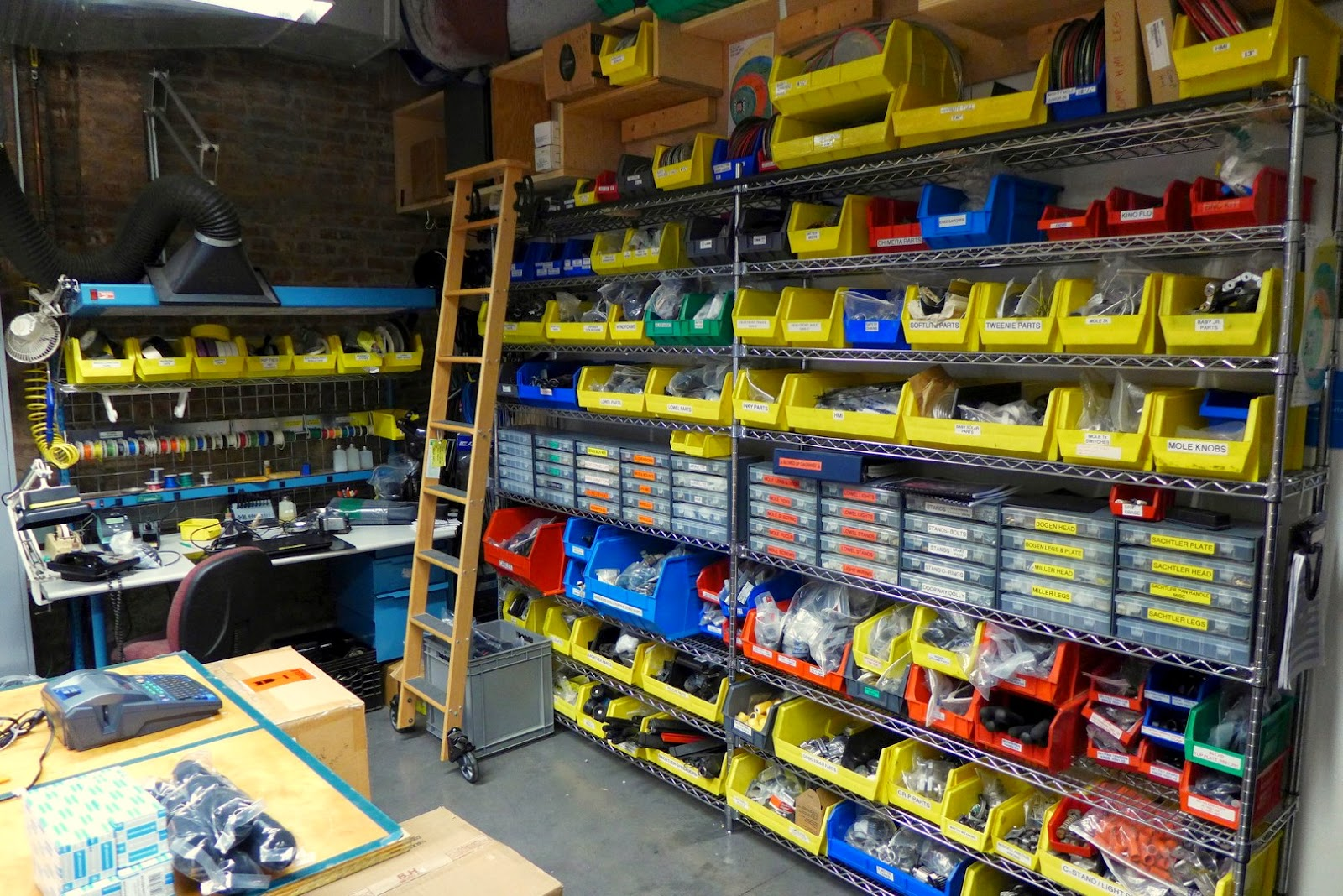 how to organize your shop, organize bins, sorting, organize, shop, workshop