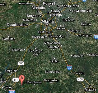 Callaway Gardens Georgia Map.Ramblertrek Callaway Gardens Pine Mountain Georgia April 6 2012
